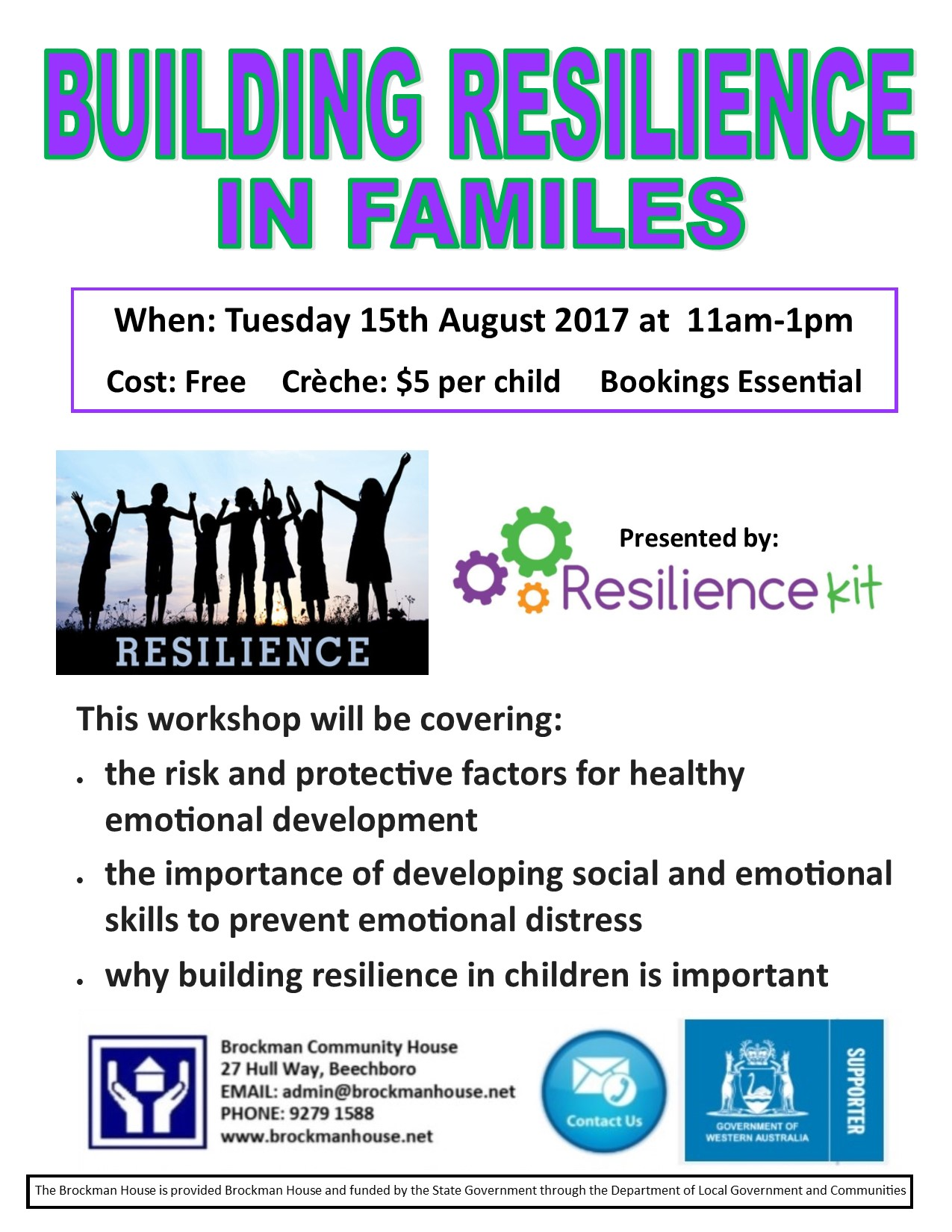Building Resilience in Families