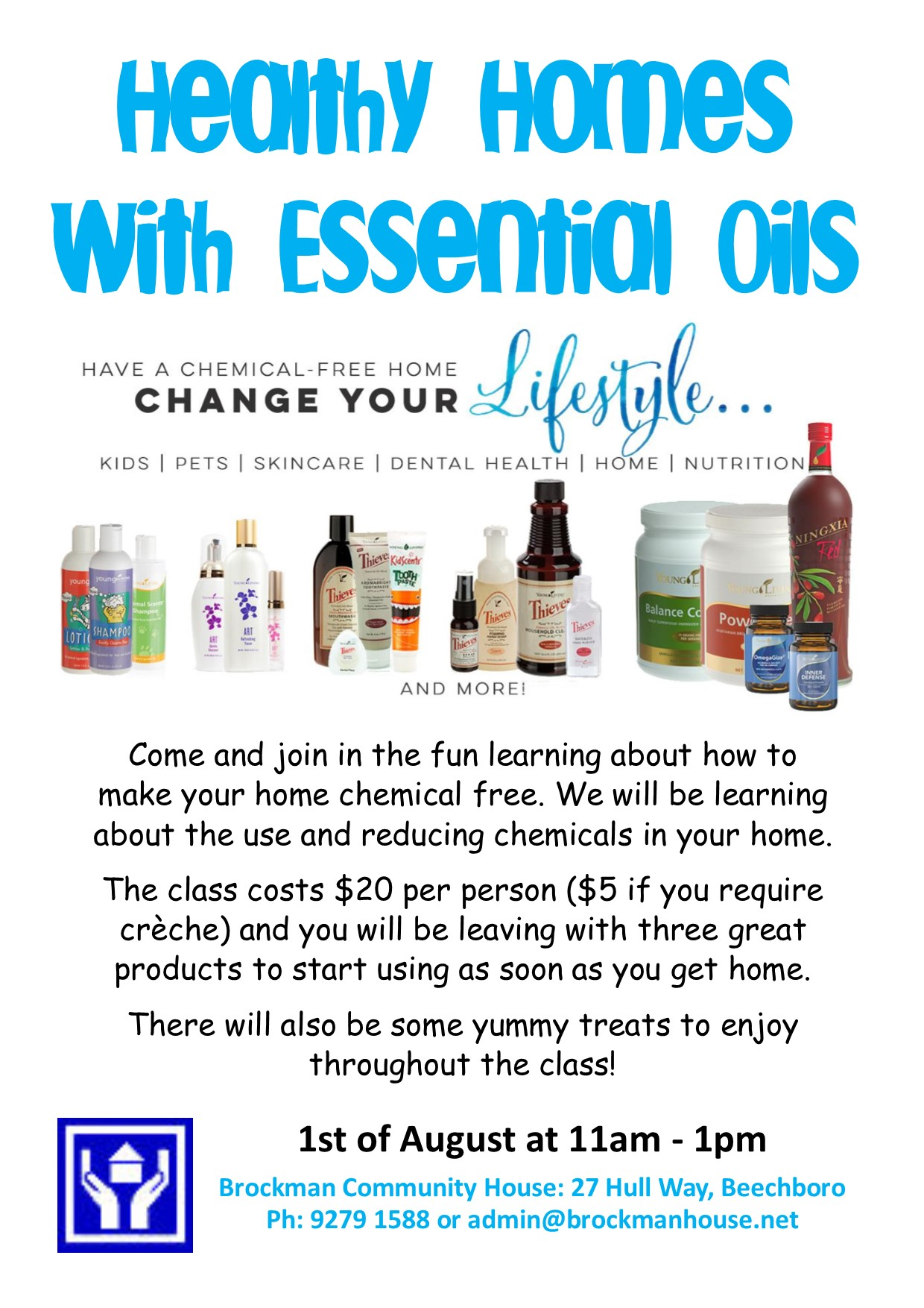 Healthy Homes with Essential Oils